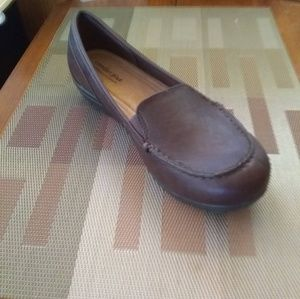 Predictions Comfort Plus Brown Loafers NWT
